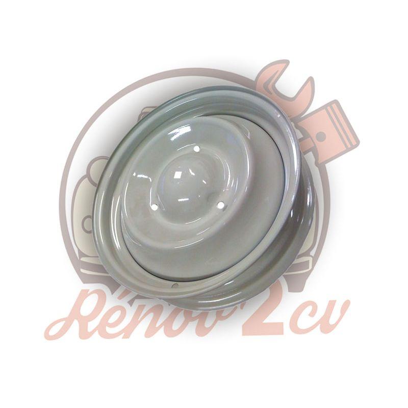 Wheel Rim 15 in. 2cv mehari dyane acadiane pinkish gray