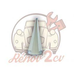 Boot lid hinge aluminium 2cv