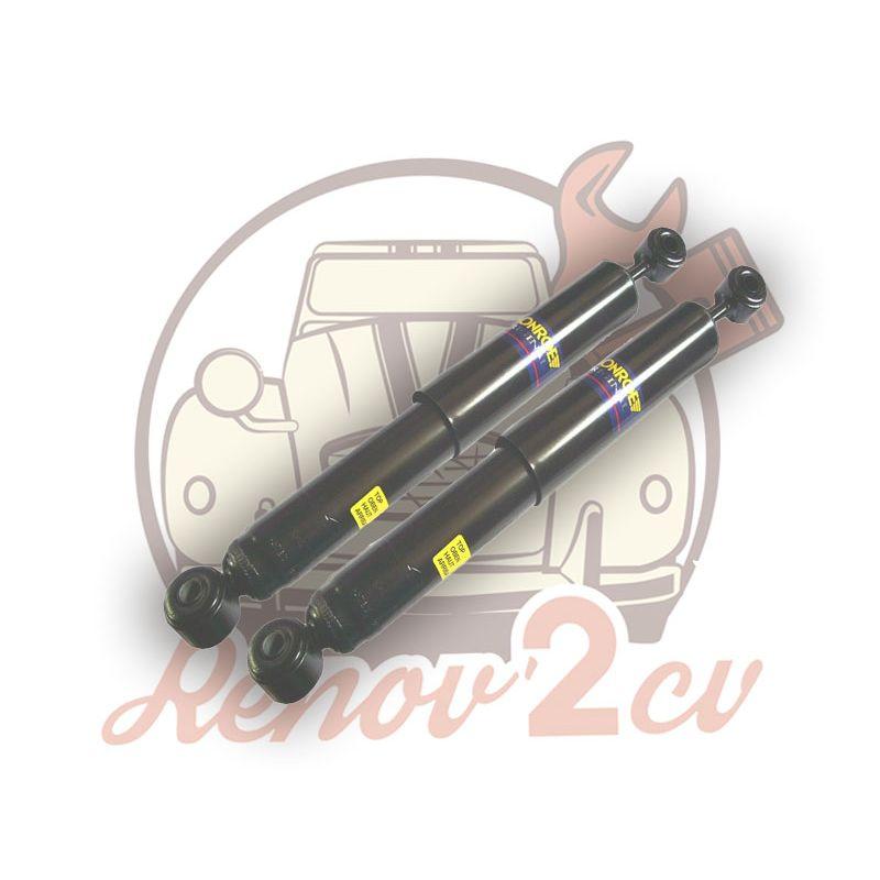 Pair of rear shock absorber gas 2cv van mehari 4x4