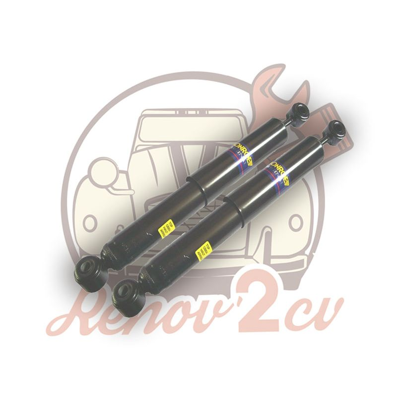 Pair of rear shock absorber ami8