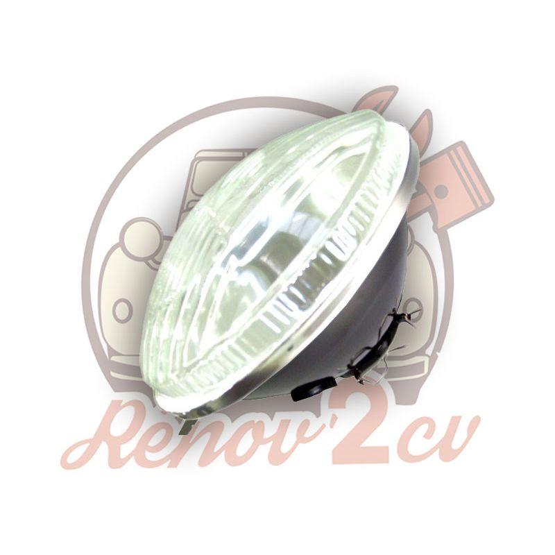 Optica redonda 2cv antiguo modelo sin luz de posición código europeo