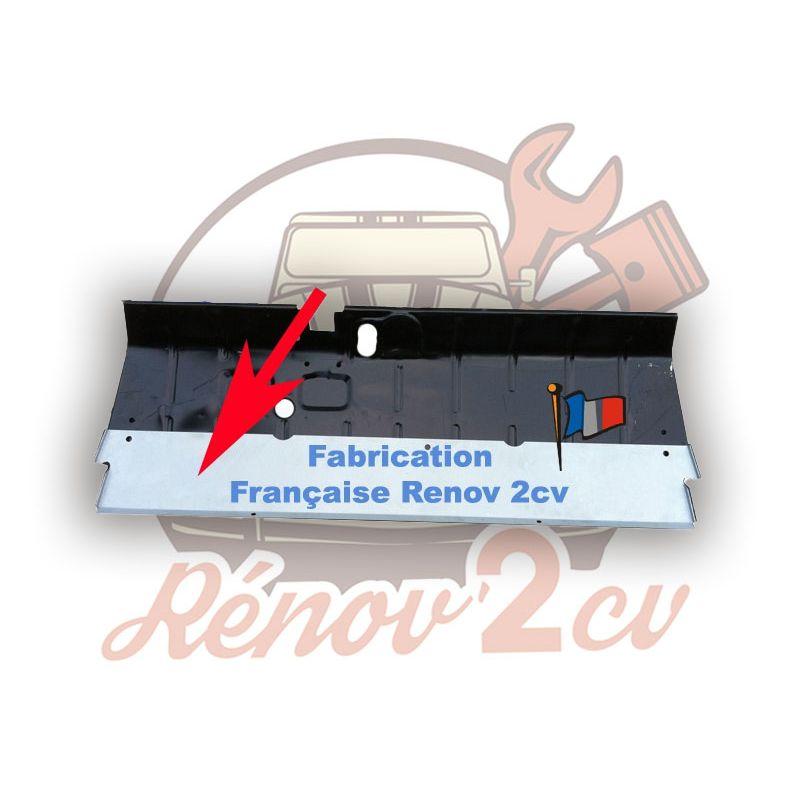 Tôle de réparation bas de plancher de pédale INTERIEUR 2cv