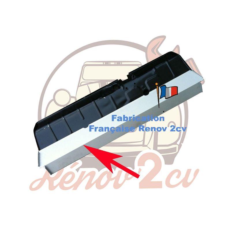Tôle de réparation sous plancher de pédale EXTERIEUR 2cv dyane acadiane