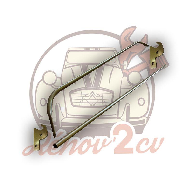 Kit di montaggio per ripiano posteriore 2cv