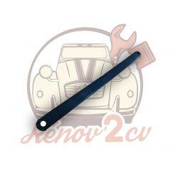 Poignee noir de porte arriere 2cv ou patte maintien ceinture securite