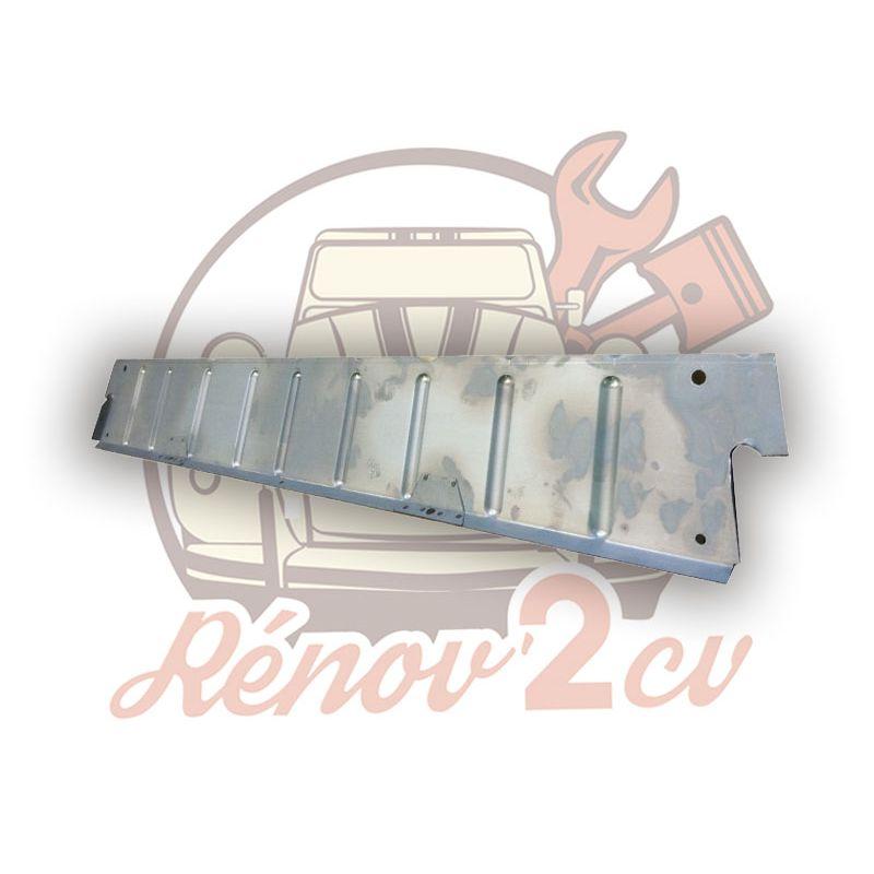Petit plancher de pedale de reparation INTERIEUR 2cv avec embouti