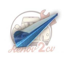 Aluminium rod roof bar 2cv